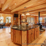 Custom Western Red Cedar Log Home Vermont