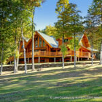 Custom Log Home built in Vermont