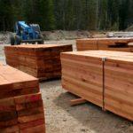 Custom Sawn Western Red Cedar Lumber - LCLH