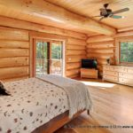 Custom Western Red Cedar Log Cabin Home