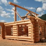 Douglas Fir Log Cabin