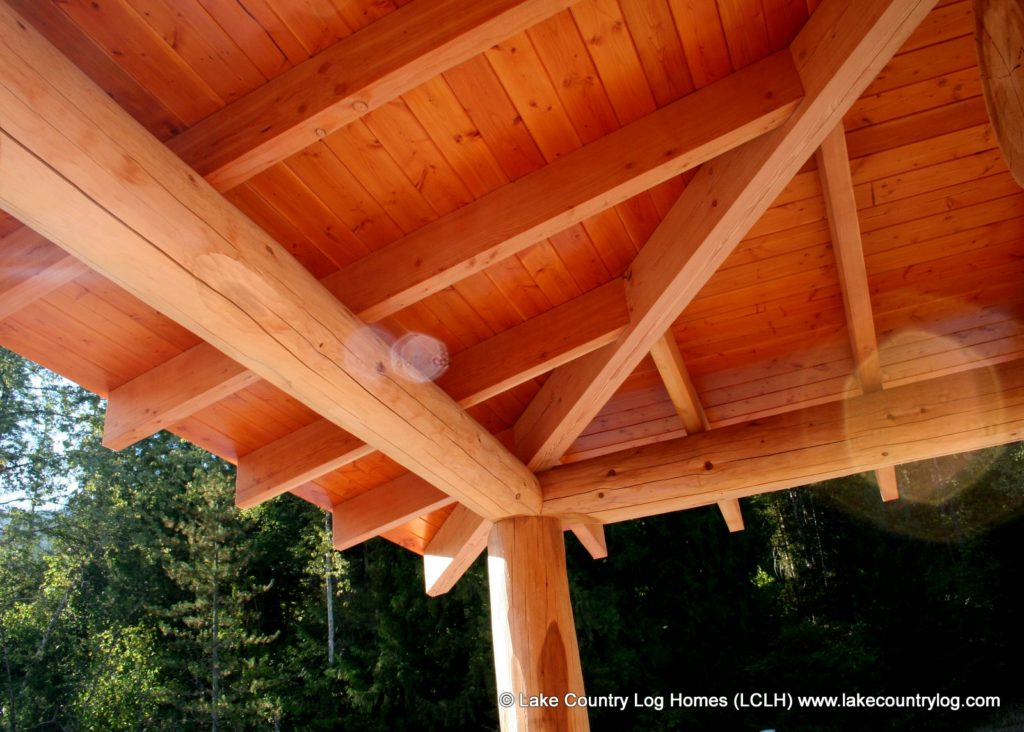 Custom Handcrafted Post And Beam Log Homes