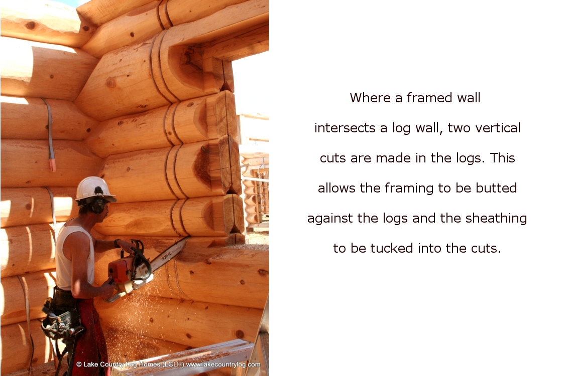 Log Wall Slotting