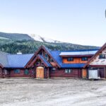 Hand Crafted Douglas Fir Log Cabin Home constructed at our yard in British Columbia for delivery to Revelstoke 05-25-21