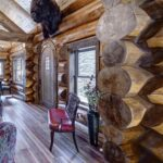 Hand Crafted Western Red Cedar Log Cabin Home Constructed at Our Yard in British Columbia for Delivery to Colorado 08-26-20