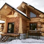 Hand Crafted Western Red Cedar Log Cabin Home Constructed at Our Yard in British Columbia for Delivery to Ontario 02-12-21