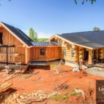 Hand Crafted Western Red Cedar Log Cabin Home constructed at our yard in British Columba and delivered to North Carolina