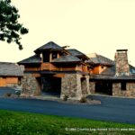 Handcrafted Log Post and Beam Luxury Home in Pennsylvania