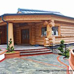 Handcrafted Western Red Cedar Log Cabin House in Austria