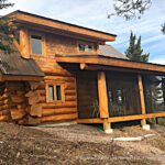 Handcrafted Western Red Cedar Log Cabin in Minnesota