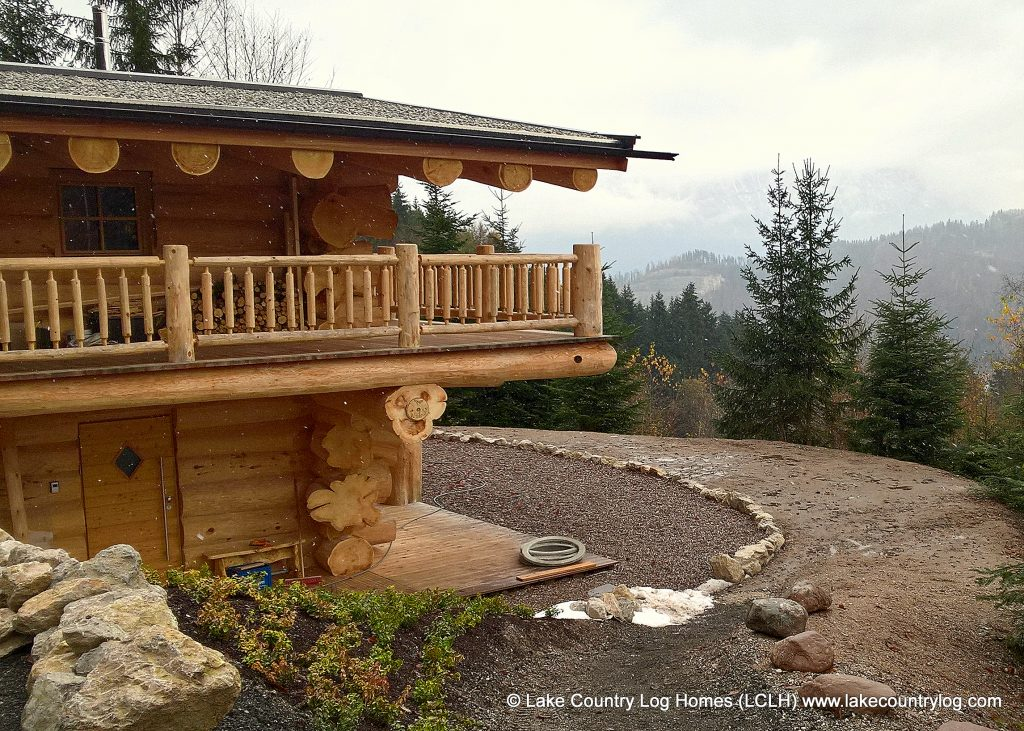 Lake Country Western Red Cedar Log Home in Austria