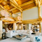 Western Red Cedar Post and Beam Log Home