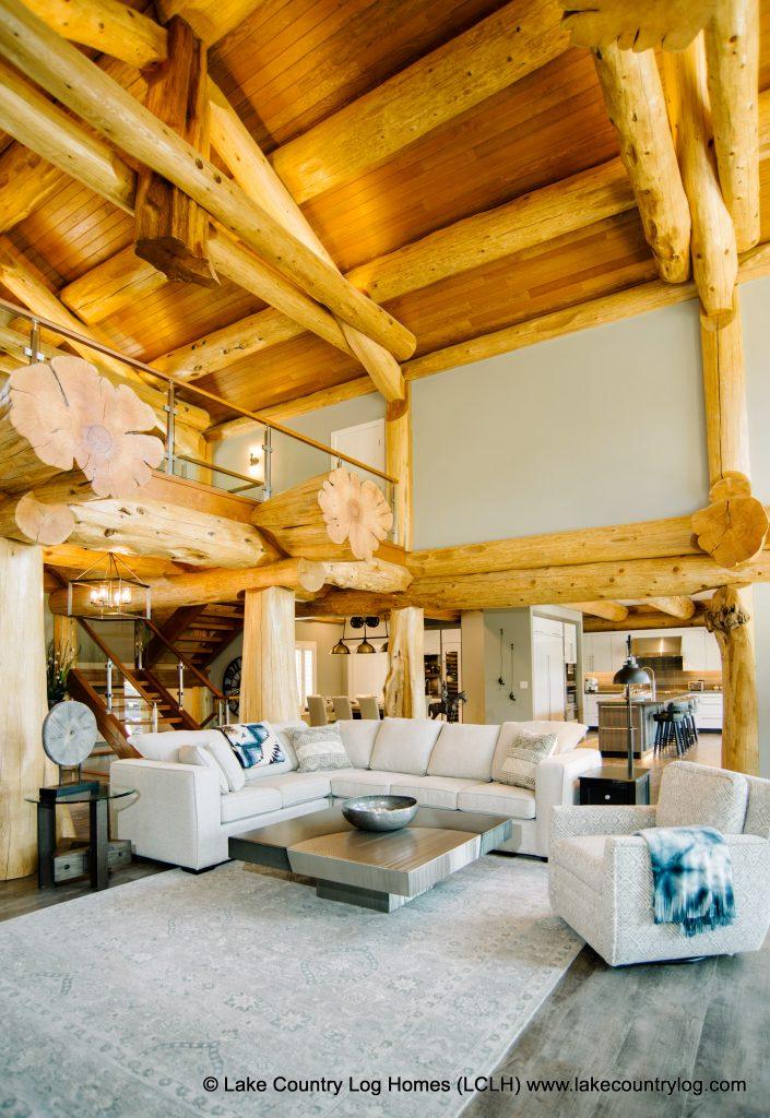 Unique Post And Beam Interior Design
