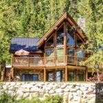 Post and Beam Lake House