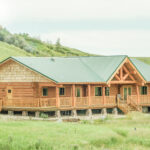 Handcrafted Log Ranch Home in Alberta