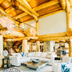 Western Red Cedar Post and Beam Great Room