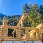 Western Red Cedar Log Cabin in BC