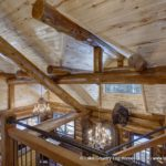 Western Red Cedar Log Cabin Home Roof System