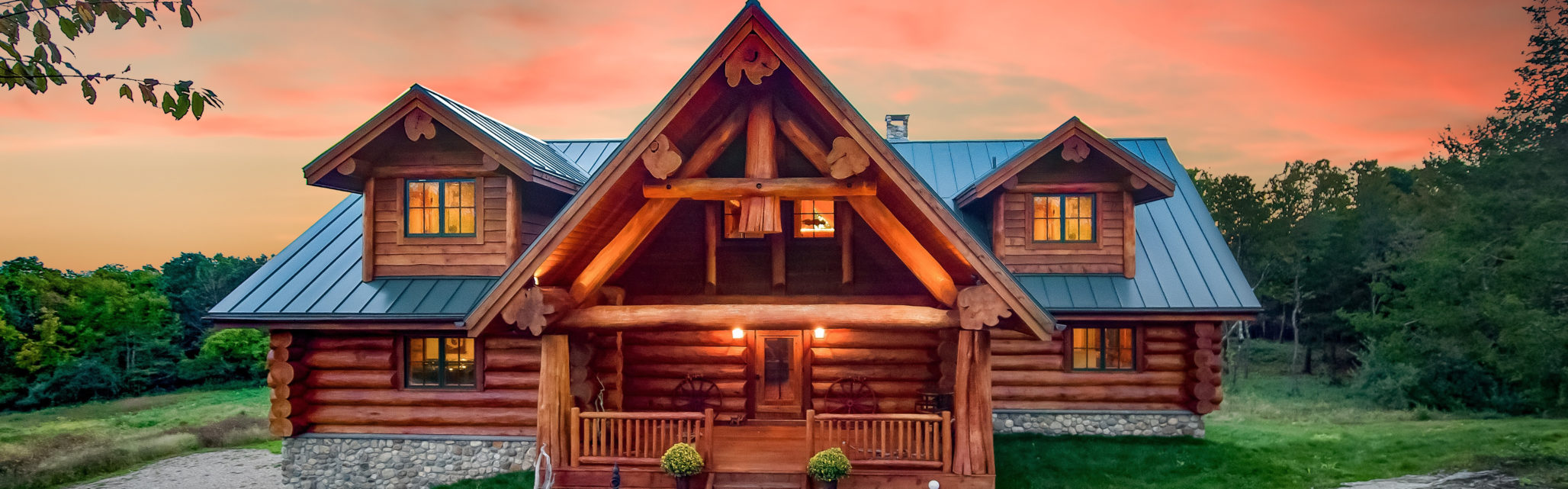 what's included in my log and timber frame home package?