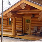 Western Red Cedar Log Cabin Home in Minnesota