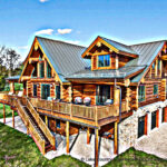 Western Red Cedar Handcrafted Log Home Connecticut