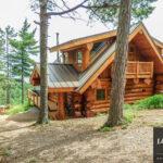 Western Red Cedar Lake Country Log Cabin Minnesota