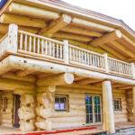 Western Red Cedar Lake Country Log Home in Austria