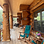 Western Red Cedar Log Cabin House Pine Colorado